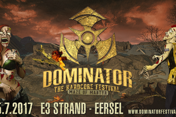 Step into the Maze of Martyr - DOMINATOR drops a huge line-up!